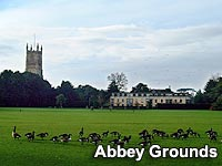 A view of The Abbey Grounds, Cirencester